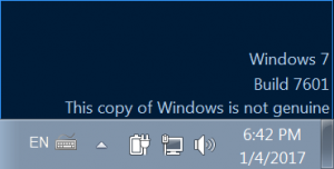 Avoiding This copy of Windows is not genuine when copying a VMware